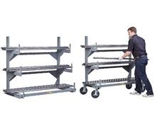 ALL-WELDED CANTILEVER RACK