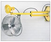 LOADING DOCK FANS AND FAN/LIGHT COMBO